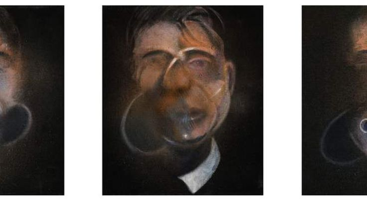 Francis Bacon's Three Studies for a Self-Portrait (Sotheby's)