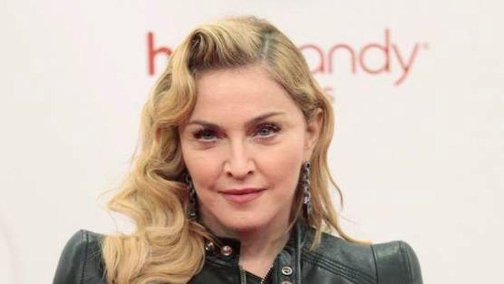 US singer Madonna