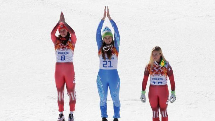Womens Downhill Medallists