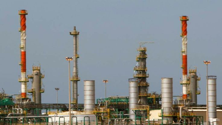 A view of the Mellitah Oil and Gas complex, west of Tripoli