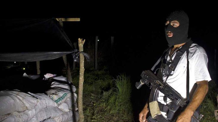 Vigilante groups in Michoacan state