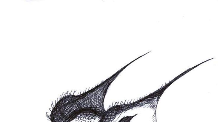 Celebrity doodles for Epilepsy: Michael Sheen