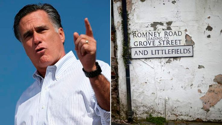 Mitt Romney and Barrow-in-Furness