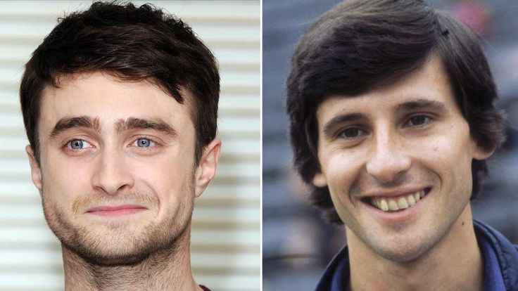 Daniel Radcliffe and Sebastian Coe