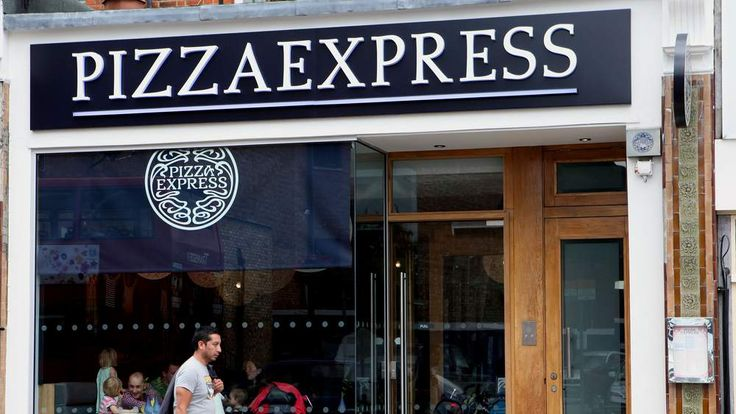 A general view of a Pizza Express, London.