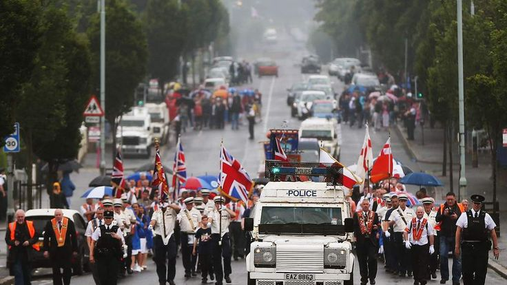 Twelfth of July celebrations - Belfast
