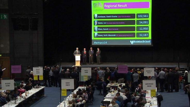 Police commissioner by-election hit by low turnout