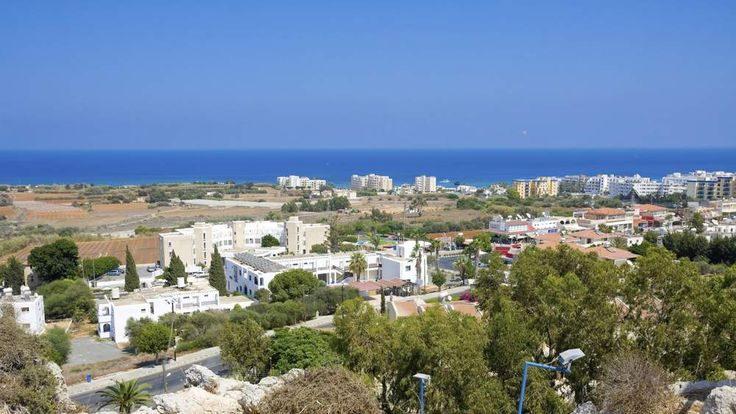 View of Protaras, Famagusta District, Cyprus