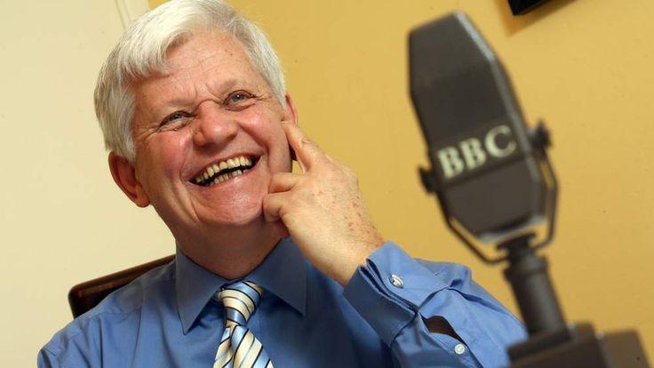 James Alexander Gordon, the former BBC radio football results announcer
