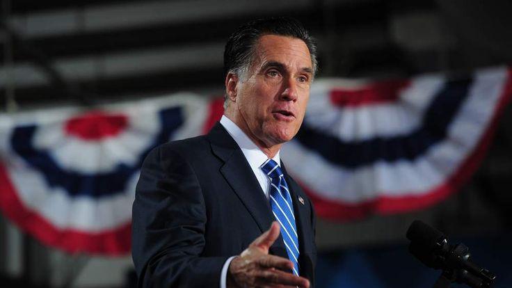 Mitt Romney in West Allis, Wisconsin