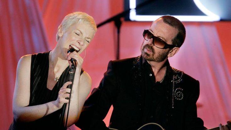 Annie Lennox and Dave Stewart