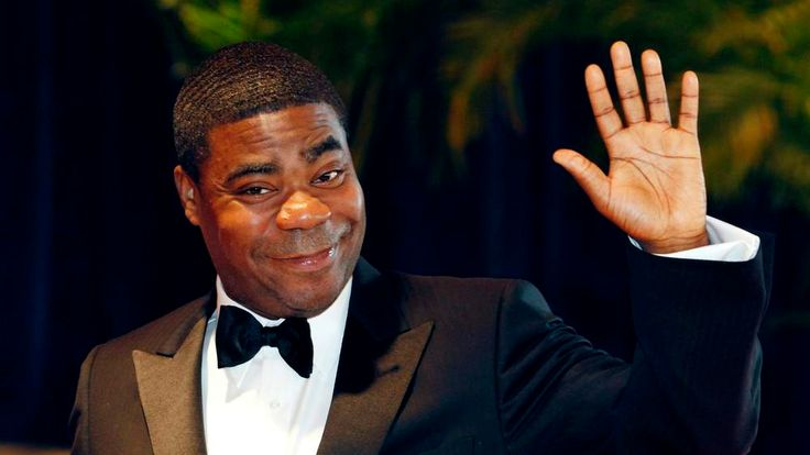 """Comedian Tracy  Morgan from the television series """"30 Rock"""" arrives at the White House Correspondents' Association dinner in Washington"""