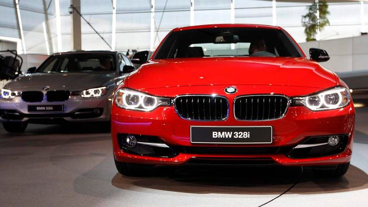 BMW 328i is shown during premiere of company's new 3 series in Munich in 2011