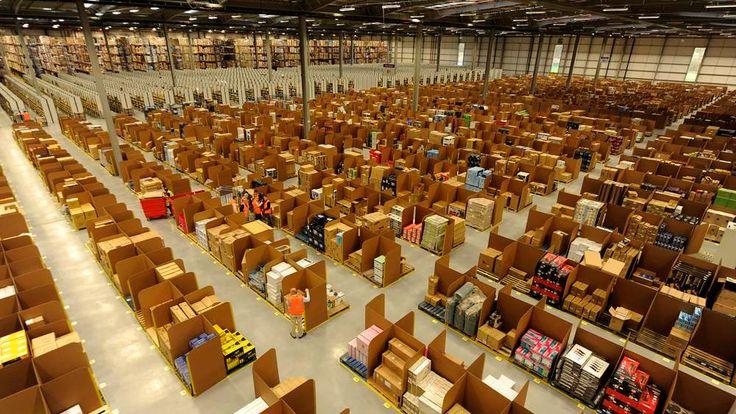 An Amazon distribution centre in Scotland