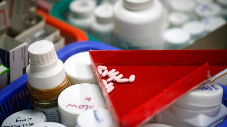 HIV-positive people are currently able to take drugs to aid their condition