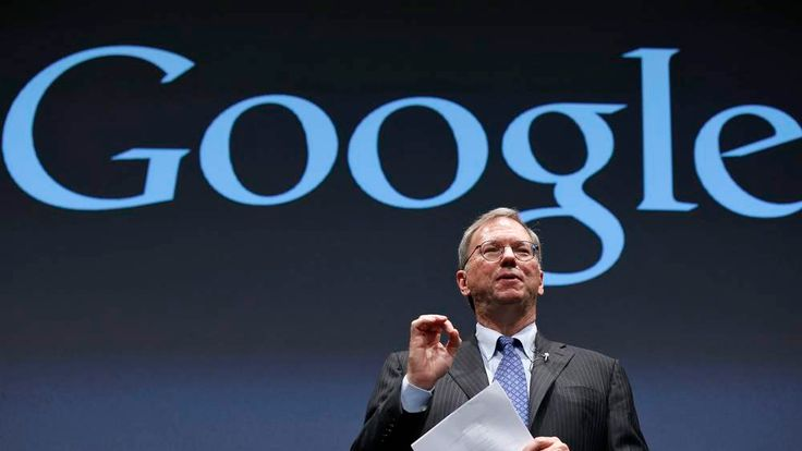 Google Executive Chairman Schmidt