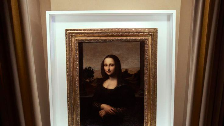 The 'earlier' Mona Lisa painting