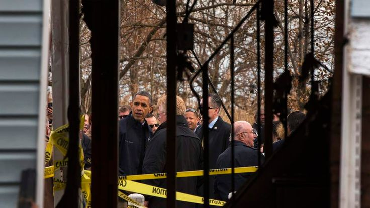 President Obama in Staten Island, New York