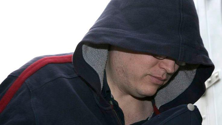 Jeffrey Paul Delisle arrives at the provincial court in Halifax, Nova Scotia,