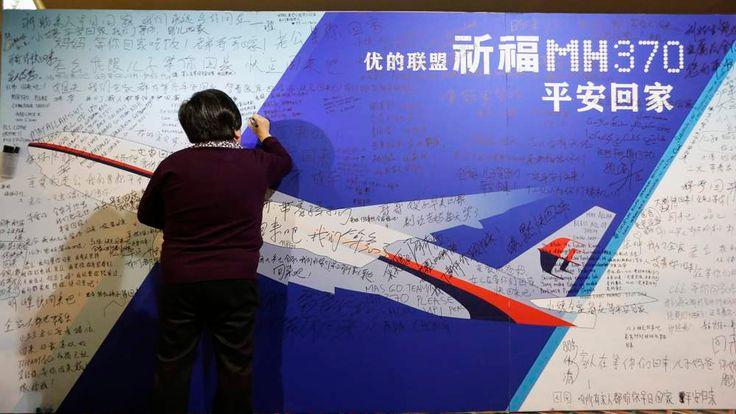 Missing Malaysia Flight MH370 Tribute Wall