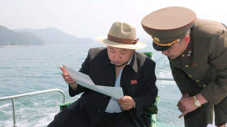 Publicity shot of Kim Jong-Un.