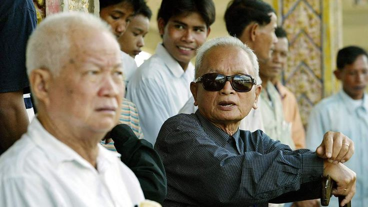 Khmer Rouge Leaders Khieu Samphan And Nuon Chea