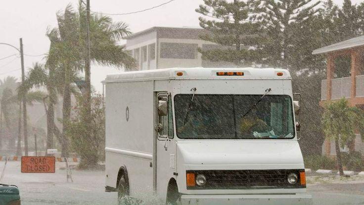Tropical Storm Andrea hits the Florida coast near Gulfport