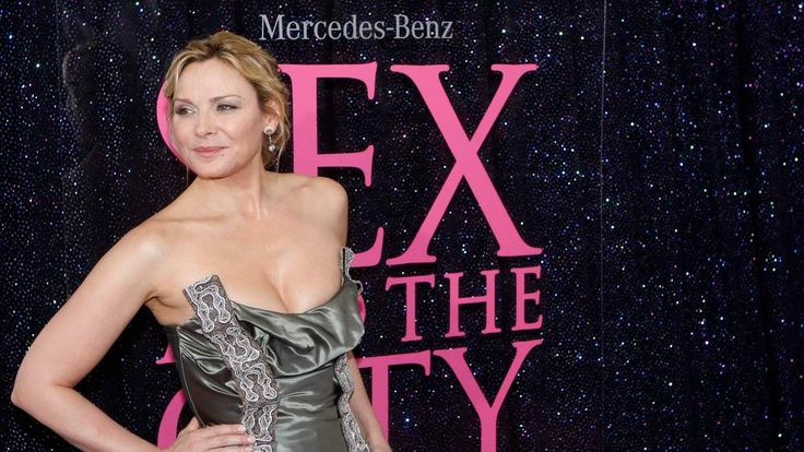 Kim Cattrall arrives at Sex And The City movie premiere in New York
