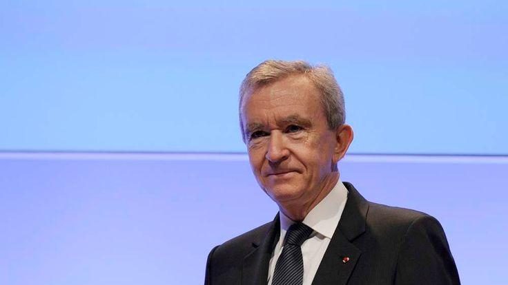 LVMH chief executive Bernard Arnault