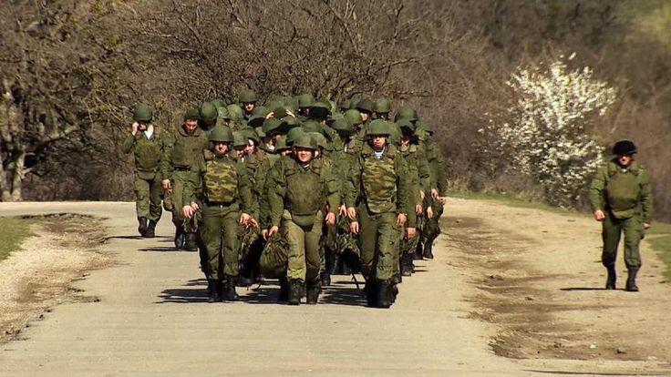 Russian troops massing along Ukraine border