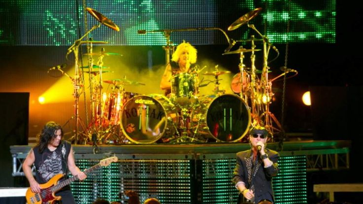 Scorpions In Concert in the US in 2012