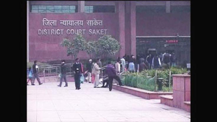 District Court Saket in Delhi, India.