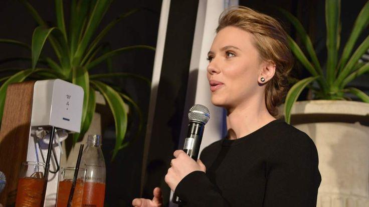 SodaStream unveils Scarlett Johansson as its first-ever Global Brand Ambassador
