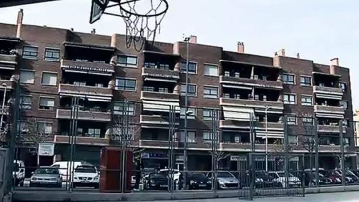 The Spanish apartment block where a seven-year-old boy was found badly decomposed.