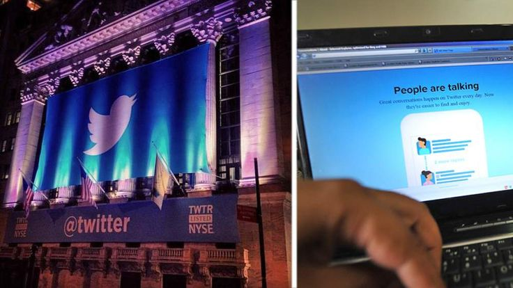 twitter's NYSE launch