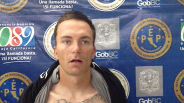 Tobias Summers - suspected paedophile arrested in Mexico