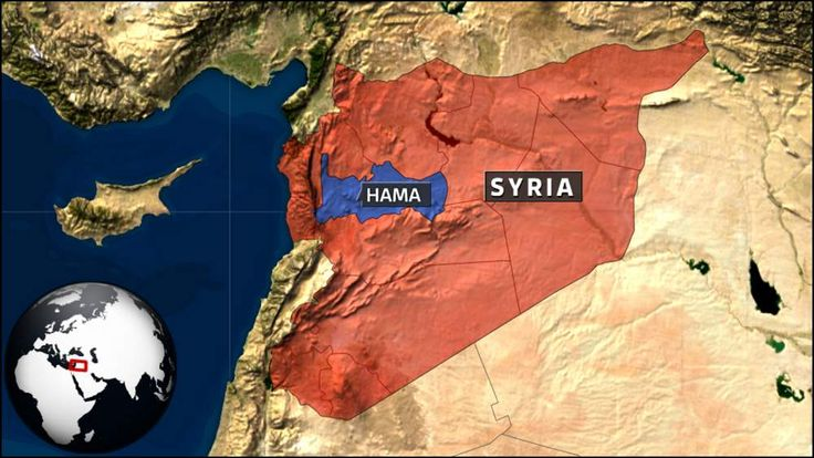 Suicide bombing in Hama, Syria