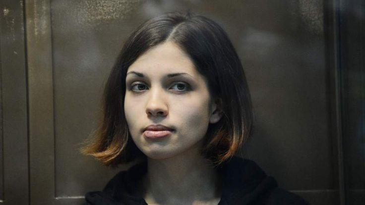 Pussy Riot band member Nadezhda Tolokonnikova in court