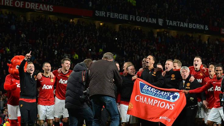 Manchester United Champions 2012/13