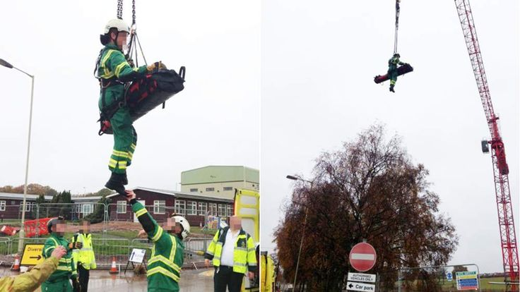 Man Rescued From Birmingham Construction Site By Crane