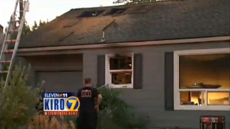 The fire in west Seattle caused $60,000 worth of damage.