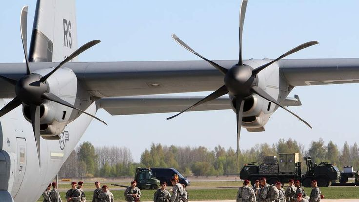 Troops arrive in Lithuania ahead of new sanctions