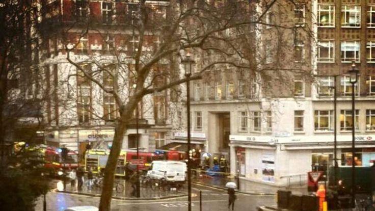Vogue House accident scene