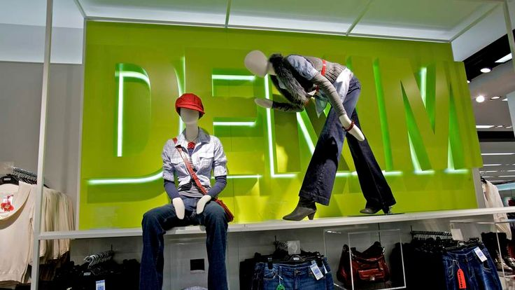 Marks and Spencer's womenswear department