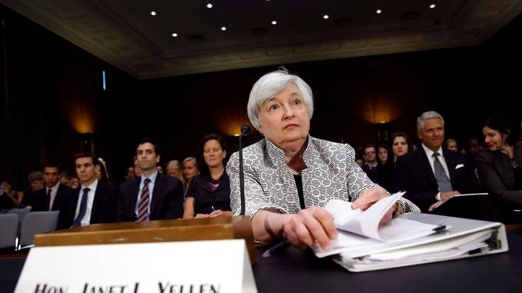 Federal Reserve Chair Yellen on Capitol Hill on July 15 2014