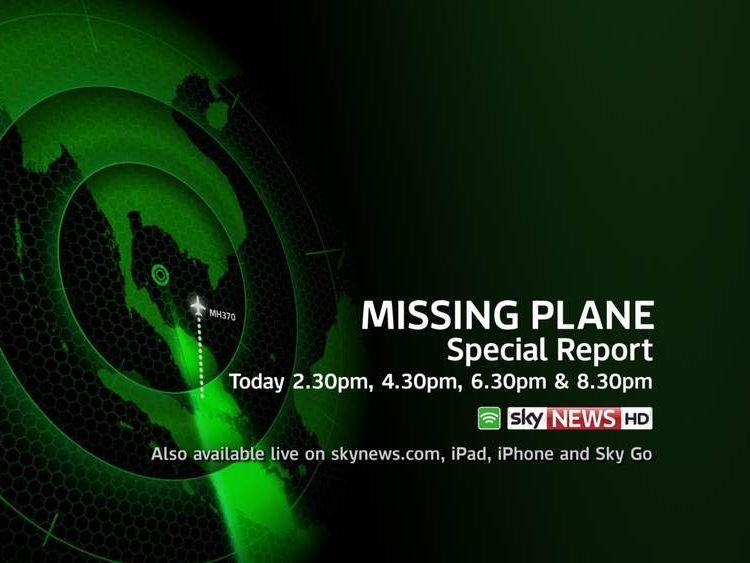 missing plane
