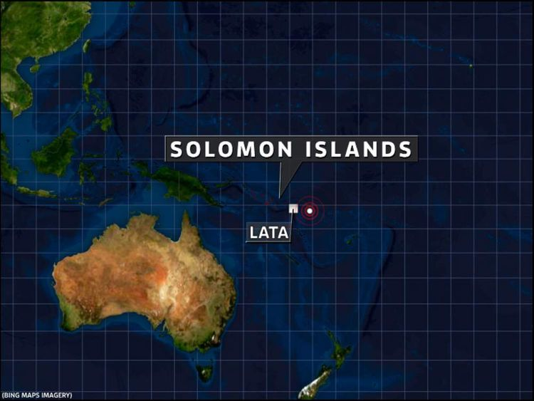 Earthquake Solomon Islands