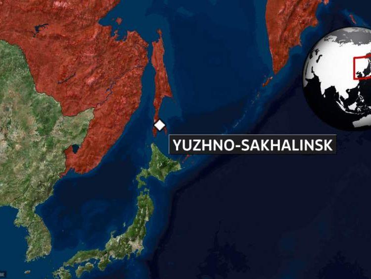 Sakhalin map