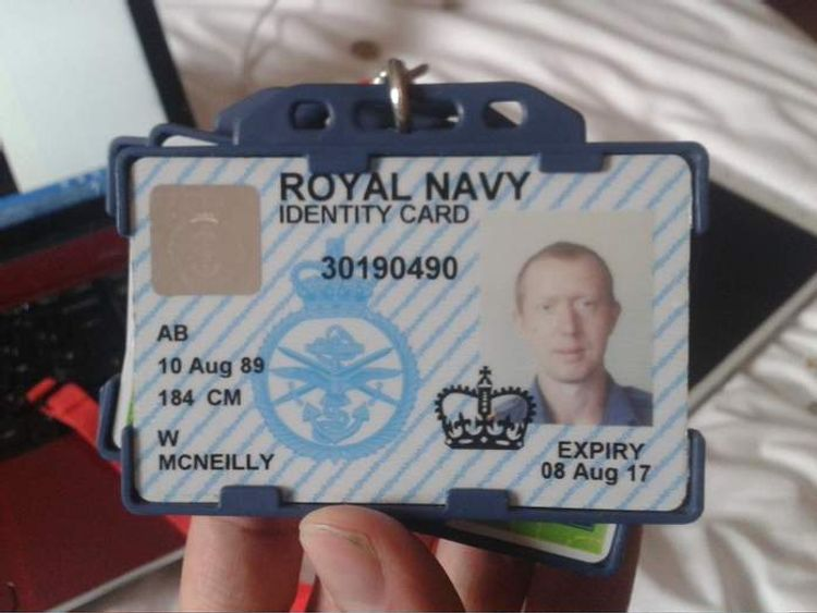 William McNeilly passport