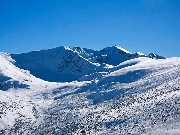 The Rila mountains near Borovets, Bulgaria